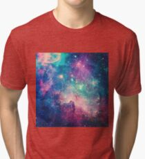 Blue Space Tri-blend T-Shirt