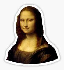 Pegatina Mona Lisa - Leonardo da Vinci