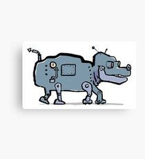 robot dog Canvas Print