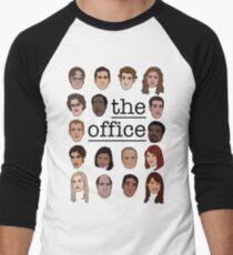 The Office Crew Men's Baseball ¾ T-Shirt