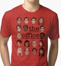 The Office Crew Tri-blend T-Shirt