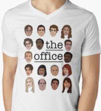 The Office Crew Men's V-Neck T-Shirt