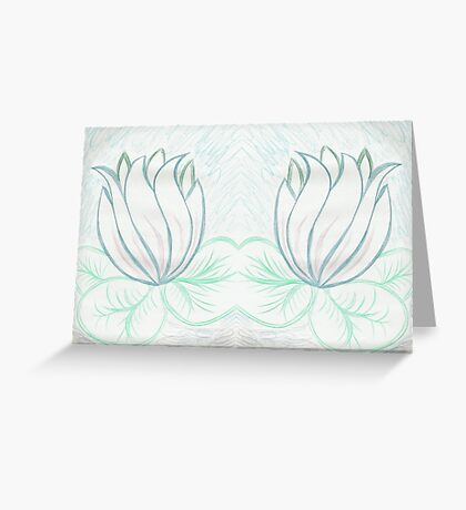 Lovely Light Lily Greeting Card