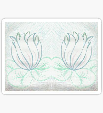 Lovely Light Lily Sticker