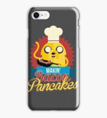 Jake The Dog Making Bacon Pancakes iPhone Case/Skin