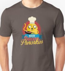 Jake The Dog Making Bacon Pancakes T-Shirt