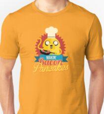 Jake The Dog Making Bacon Pancakes T-Shirt