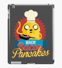 Jake The Dog Making Bacon Pancakes iPad Case/Skin