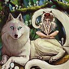 Wolfs-Prinzessin im Wald von missdaisydee