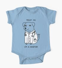 Dogtor Short Sleeve Baby One-Piece