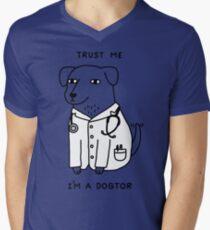 Dogtor Men's V-Neck T-Shirt