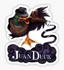 One Tough Duck Sticker