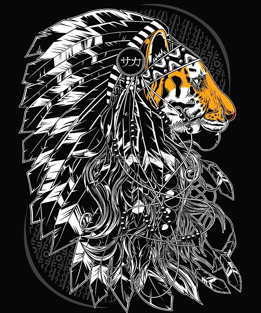 Chief Tiger by sakhaartwork