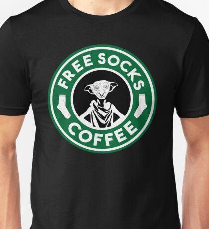 Free Socks Coffee Unisex T-Shirt