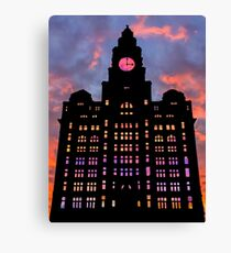 Royal Liver Building Canvas Print
