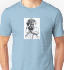 Dog on the phone T-Shirt