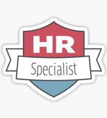 HR Specialist Gifts Sticker