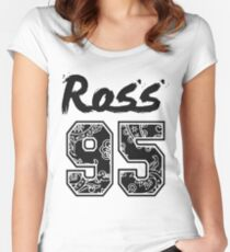 Ross 95' Paisley Women's Fitted Scoop T-Shirt