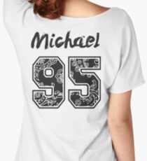 Michael 95' Paisley Women's Relaxed Fit T-Shirt