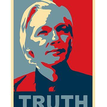 TRUTH, Julian Assange by monica90