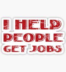 HR Tshirt Sticker
