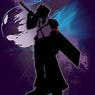 Super Smash Bros. Purple Advent Cloud Silhouette by jewlecho