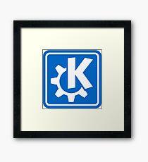 KDE logo Framed Print