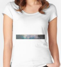 Claude Monet - The Water Lilies - The Clouds (1915 - 1926)  Impressionism Women's Fitted Scoop T-Shirt
