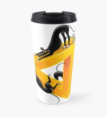 Greyllusion Travel Mug