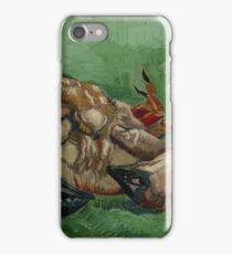 Vincent Van Gogh  - A crab on its back (1888). Famous Painting. Impressionism. iPhone Case/Skin