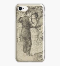 Auguste Renoir - Dance in the Country 1883 Romance Kiss iPhone Case/Skin