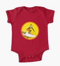Surfer Poe Baby Body Kurzarm