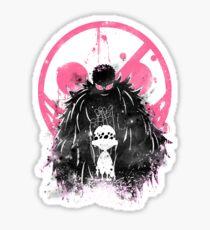 Doflamingo Art Sticker