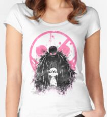 Doflamingo Art Women's Fitted Scoop T-Shirt