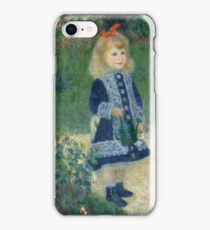 Auguste Renoir - A Girl with a Watering Can 1876 iPhone Case/Skin