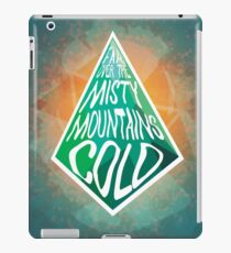 Misty Mountain  iPad Case/Skin