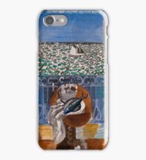 Dufy Raoul - View Through A Window, Nice  1925 , Impressionism , Seascape  iPhone Case/Skin