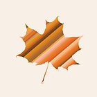 Autumn Leaf  by POP Collective