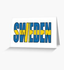 Sweden Greeting Card