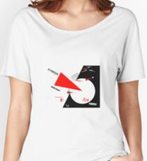 El Lissitzky - Beat the Whites Women's Relaxed Fit T-Shirt