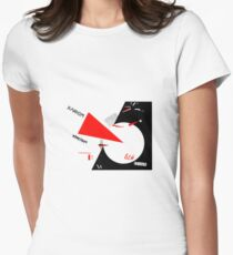El Lissitzky - Beat the Whites Tailliertes T-Shirt