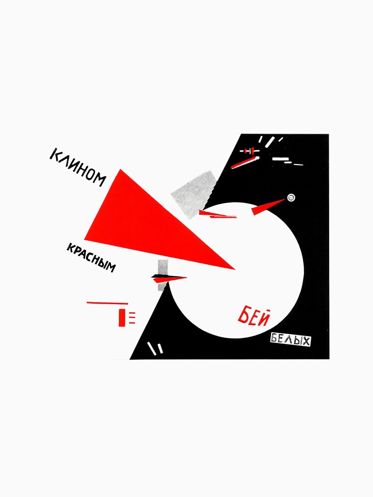 El Lissitzky - Beat the Whites von niceaesthetics
