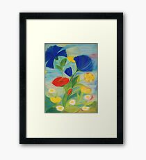 July Blossoms Framed Print