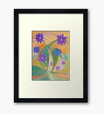October Blossoms Framed Print