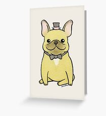 French Bulldog - The Little Gentleman Greeting Card