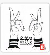 Kraftklub Sticker