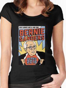 Bernie Comic Women's Fitted Scoop T-Shirt