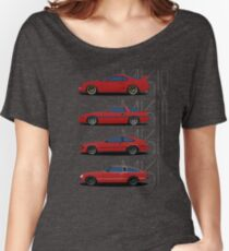 Toyota Supra Generations Women's Relaxed Fit T-Shirt