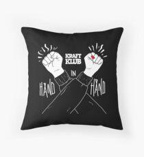 Kraftklub Hand in Hand Throw Pillow