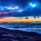 Stormy Icelandic Sunset by Chris Thaxter